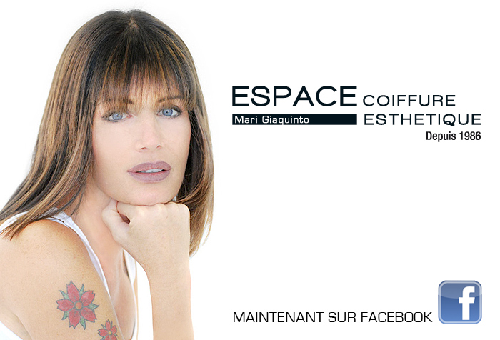 coupe de cheveux – © 2017 ESPACE COIFFURE ESTHETIQUE